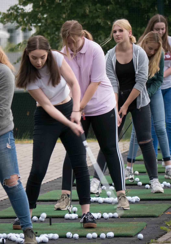 Golf-Schnupperkurs mit der 8b