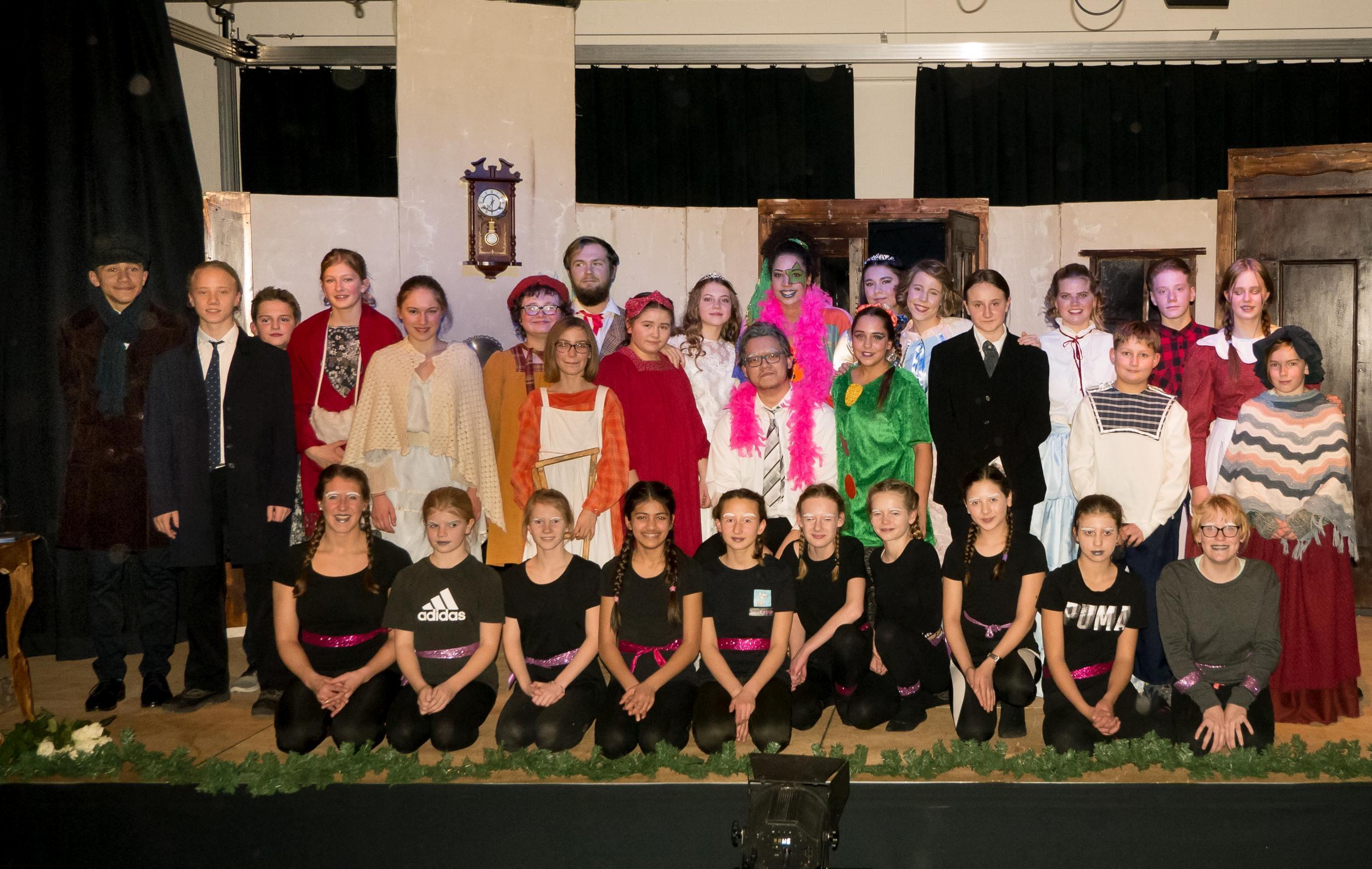 Scrooge - Musical AG führt Weihnachtsmärchen auf