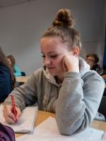 Eindrücke aus dem Mathe-Unterricht im 9. Jahrgang