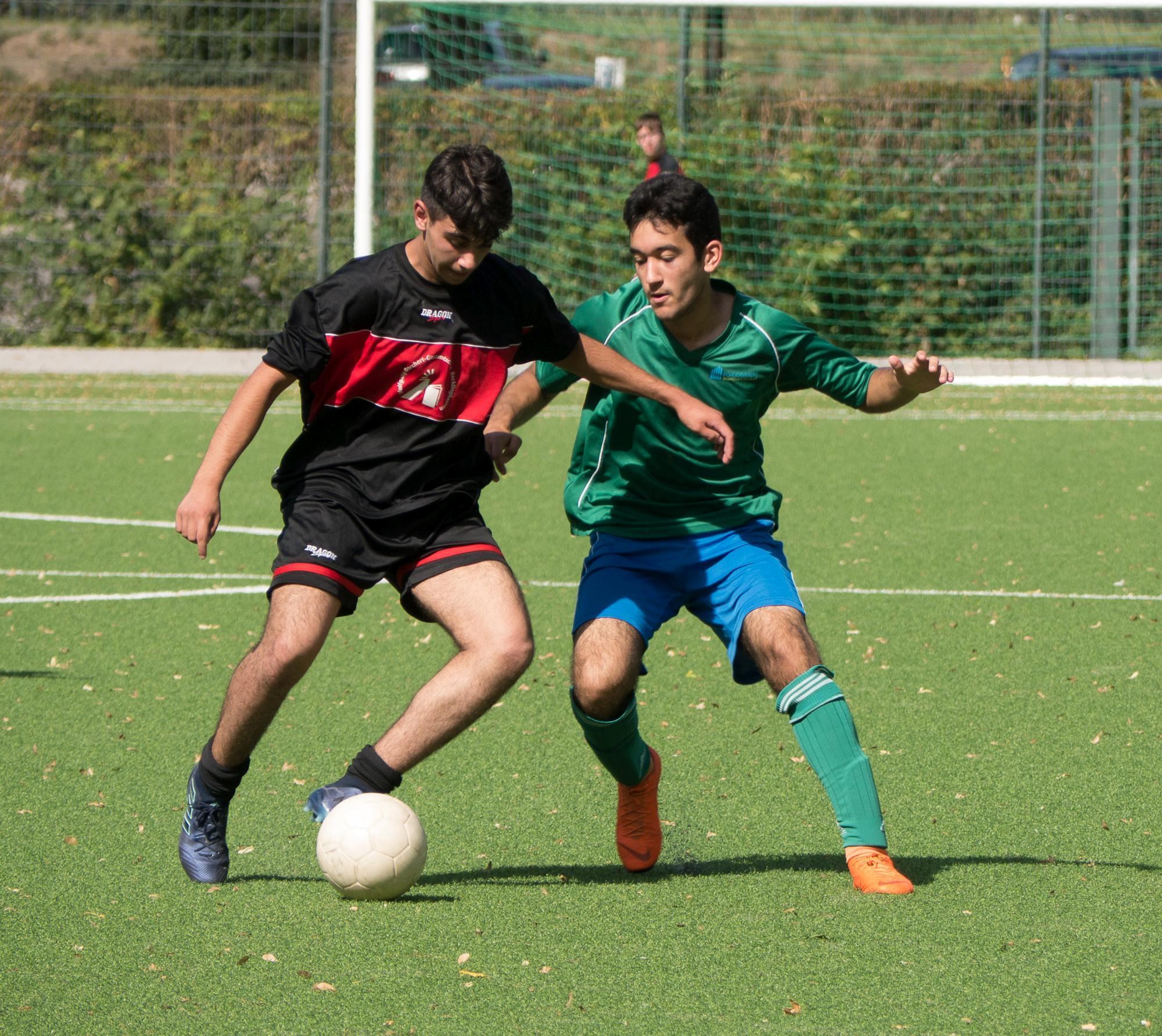 Geresu-Kicker gewinnen Turnier um das Viertelfinale