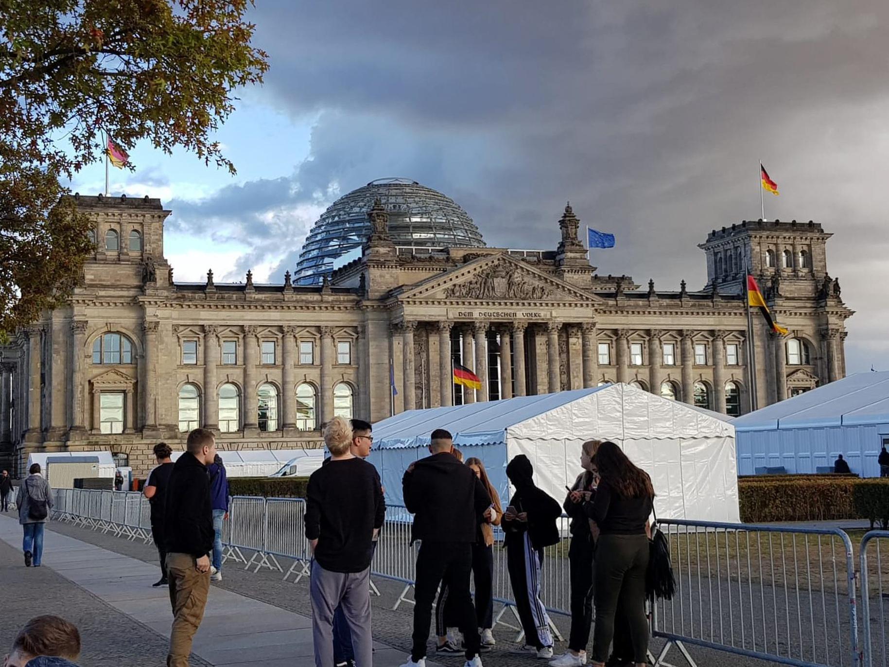 Berlin - Abschlussfahrt 10d
