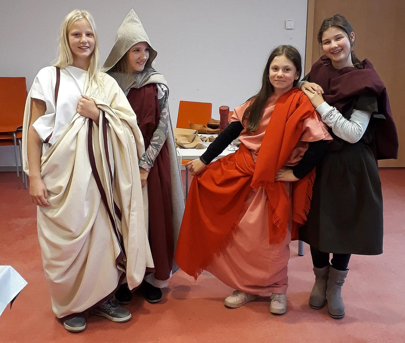 Römerzeit im Jahrgang 6